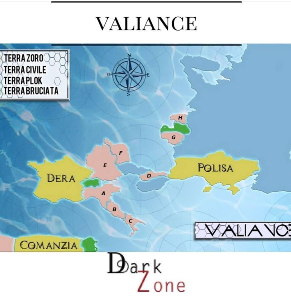 Marika Vangone - Valiance - Mappa