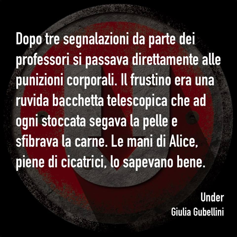 Giulia Gubellini - Under - Estratto