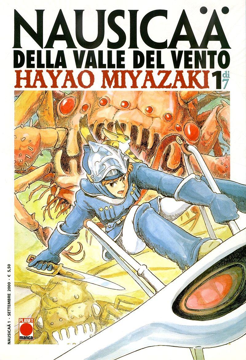"Recensione Fumetto: ""Nausicaä della Valle del vento"" di  Hayao Miyazaki"