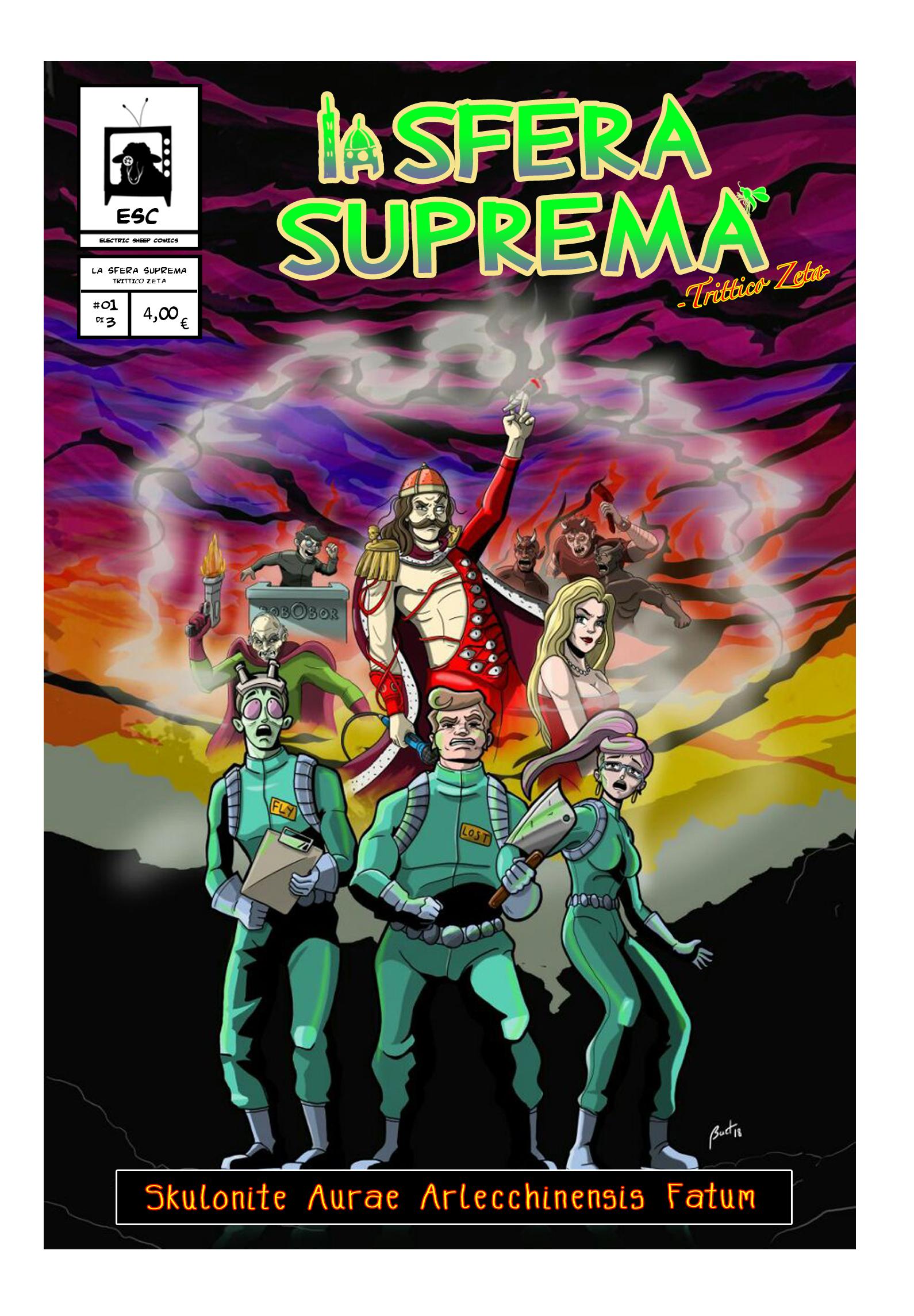 """Recensione Fumetto: """"La sfera suprema-Trittico Zeta"""" di Filippo Ferrucci e Riccardo Iacono"""