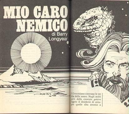 """Recensione: """"Mio caro nemico"""" di Barry Longyear"""
